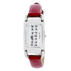 Just Sweet by Jennifer Lopez Red Strap Watch - Thumbnail 1