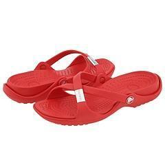 4087cbf6c Shop Crocs Adara Scarlet Scarlet - Ships To Canada - - 3660948