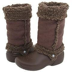 0e0d97645e9a8 Shop Crocs  Nadia  Women s Brown Boots - Free Shipping Today ...