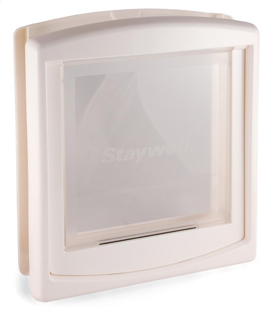 Staywell Large White Hard Flap Pet Door  sc 1 st  Overstock.com & Staywell Large White Hard Flap Pet Door - Free Shipping Today ...