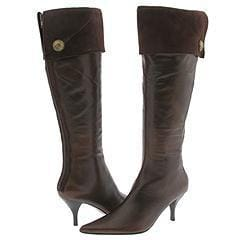 Nine West Despina Dark Brown/Dark Brown Leather