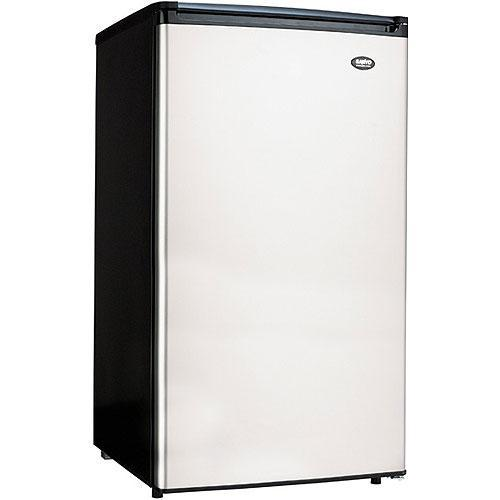Sanyo 3 7 Cubic Foot Stainless Steel Refrigerator Free