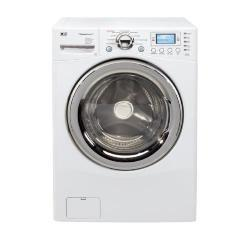 Thumbnail 3, LG WM3988HWA 4.2-cubic-foot White Steam Washer/ Dryer Combo. Changes active main hero.