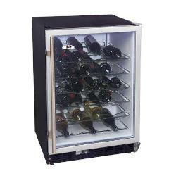 shop haier 50 bottle built in wine cooler free shipping today 3694238. Black Bedroom Furniture Sets. Home Design Ideas