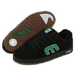 Shop Etnies Callicut Black/Green/White