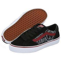 c3d9379332e95e Shop Vans La Cripta Dos (Black Label) Blacck Rio Red - Free Shipping ...