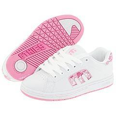 Shop Etnies Callicut W White/Pink/White