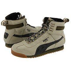 87d39f38249 Shop Puma Roma Hi Speckle Sray Green Black Dark Olive Brown - Free ...