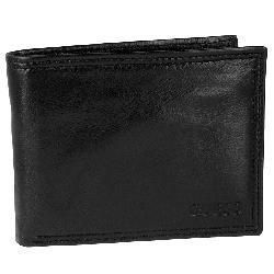 Guess Men's Black Passcase Wallet