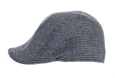 Newsboy Wool Blend Cap Paperboy Men Boy Gatsby Hipster Ivy Hat, Grey Patterned