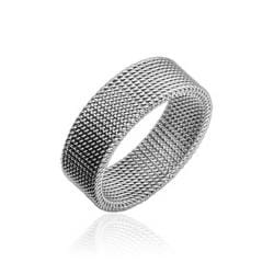 Stainless Steel Inspired Flexible Screen Ring