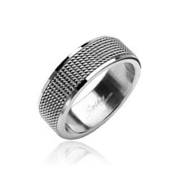 Stainless Steel Meshed Center Screen Ring - Thumbnail 0