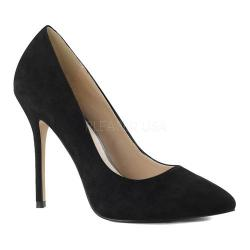 Women's Pleaser Amuse 20 Black Suede