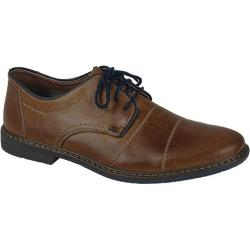 Men's Rieker-Antistress Diego 21 Cap-Toe Oxford Toffee/Navy/Zimt Leather/Synthetic Combo