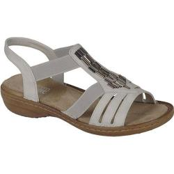 Women's Rieker-Antistress Regina 00 Sandal Ice Synthetic