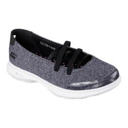 Women's Skechers GO STEP Pose Mary Jane Black/White