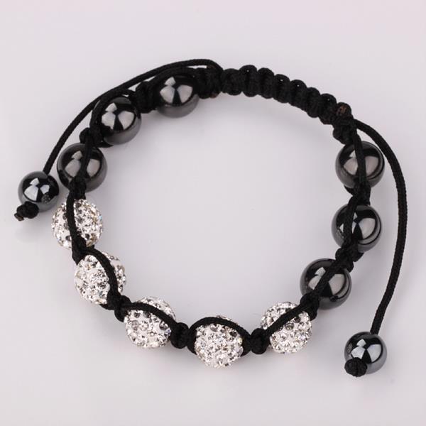 Vienna Jewelry Hand Made Five Stone Swarovksi Elements Bracelet-Royal Crystal