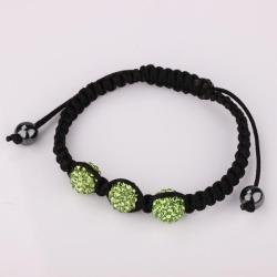Vienna Jewelry Pave Swarovksi Elements Style Bracelet- LightEmerald