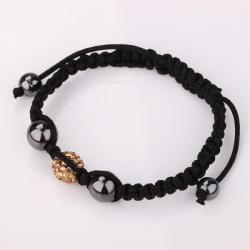 Vienna Jewelry Hand Made Swarovksi Elements Bracelet- Orange Citrine