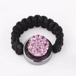 Vienna Jewelry Resizeable Ring made with Austrian Crystal Elements- Coral