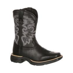 Children's Durango Boot DBT0146 8in Lil' Durango Big Kid Western Boot Black Leather