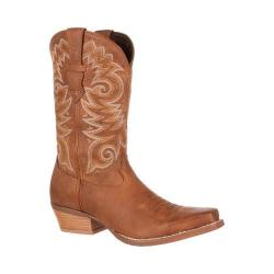 Men's Durango Boot DDB0072 12in Gambler Western Boot Tan Leather
