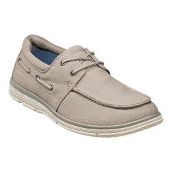 Men's Nunn Bush Zac Boat Shoe Sandstone Canvas
