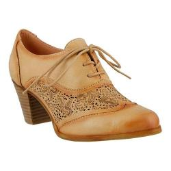 Women's L'Artiste by Spring Step Agila Lace Up Shoe Natural Leather