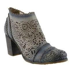 Women's L'Artiste by Spring Step Bao Ankle Boot Gray Leather