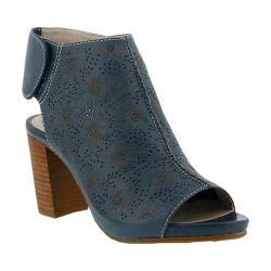 Women's L'Artiste by Spring Step Fab Sandal Blue Leather