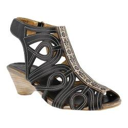 Women's L'Artiste by Spring Step Flourish Black Leather
