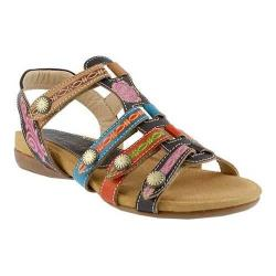 Women's L'Artiste by Spring Step Gipsy Sandal Brown Multi Leather