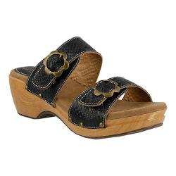Women's L'Artiste by Spring Step Mittie Slide Black Leather