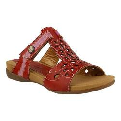Women's L'Artiste by Spring Step Ulyana Slide Red Leather
