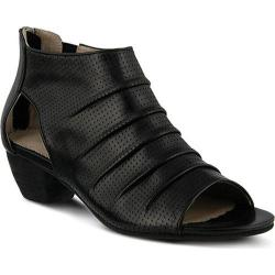 Women's Spring Step Avidra Bootie Black Leather
