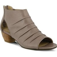 Women's Spring Step Avidra Bootie Taupe Leather