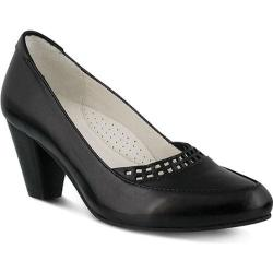 Women's Spring Step Navis Pump Black Leather