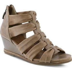 Women's Spring Step Raziya Strappy Sandal Taupe Leather