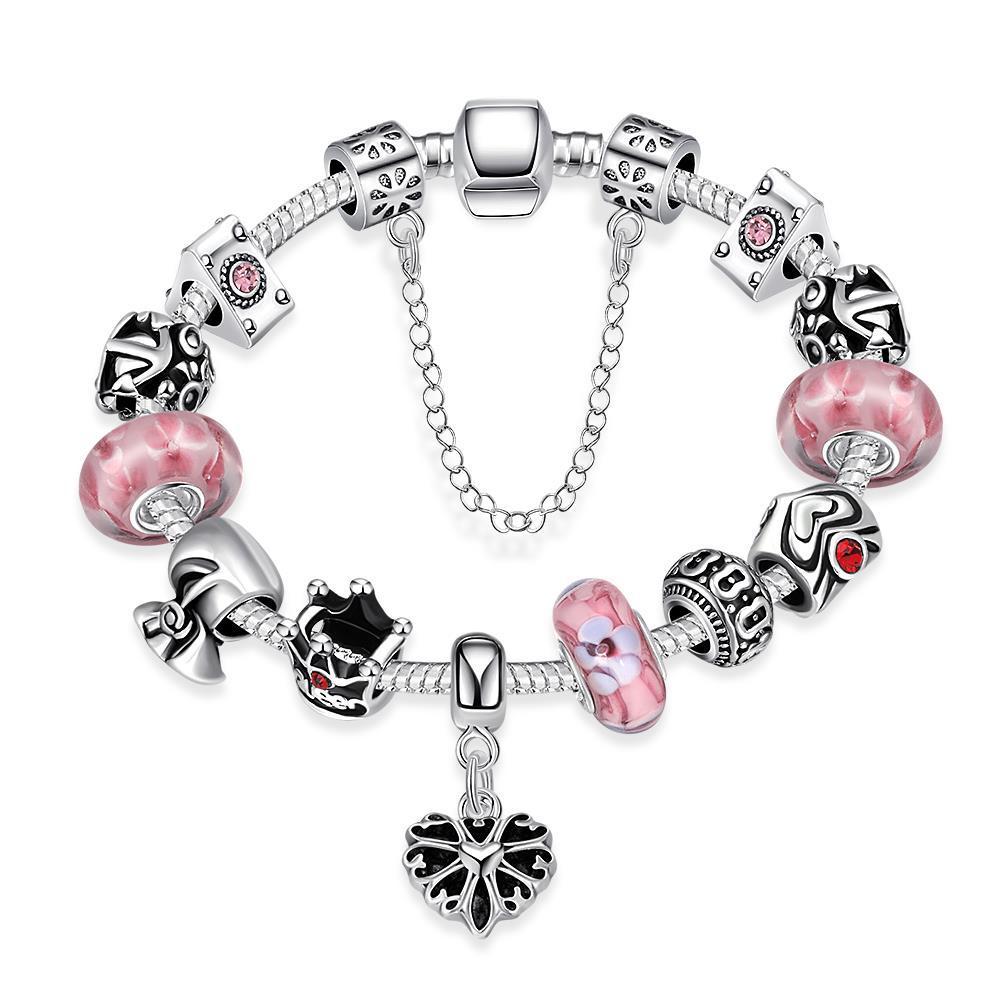 Vienna Jewelry Sweet Bubblegum Bracelet