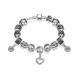 Vienna Jewelry My One and Only Soulmate Pandora Inspired Bracelet