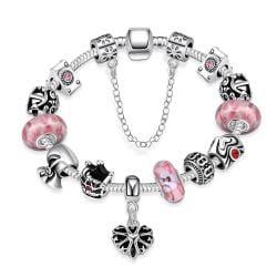 Vienna Jewelry Sweet Bubblegum Bracelet - Thumbnail 0