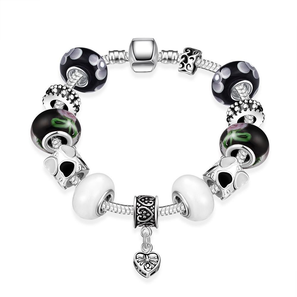 Vienna Jewelry Multi Color Black & White Bracelet