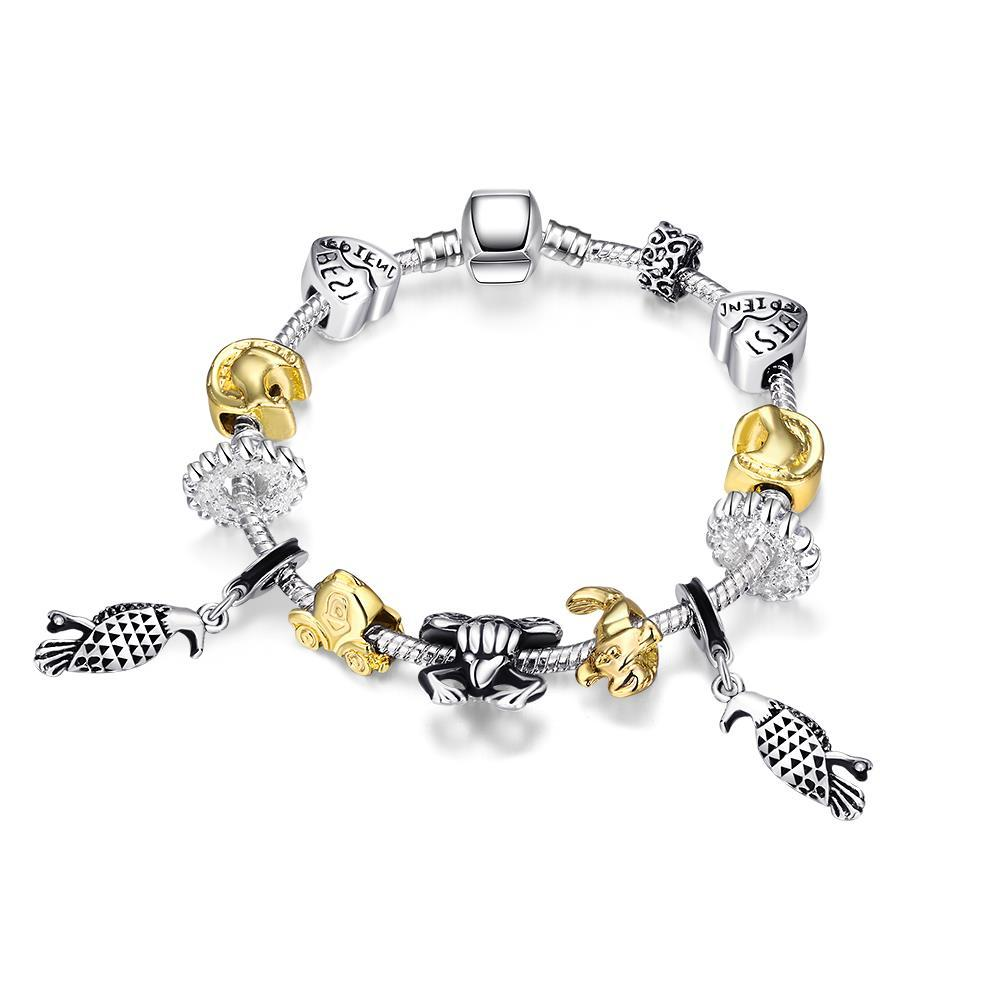 Vienna Jewelry Animals of the Globe Designer Inspird Bracelet - Thumbnail 0