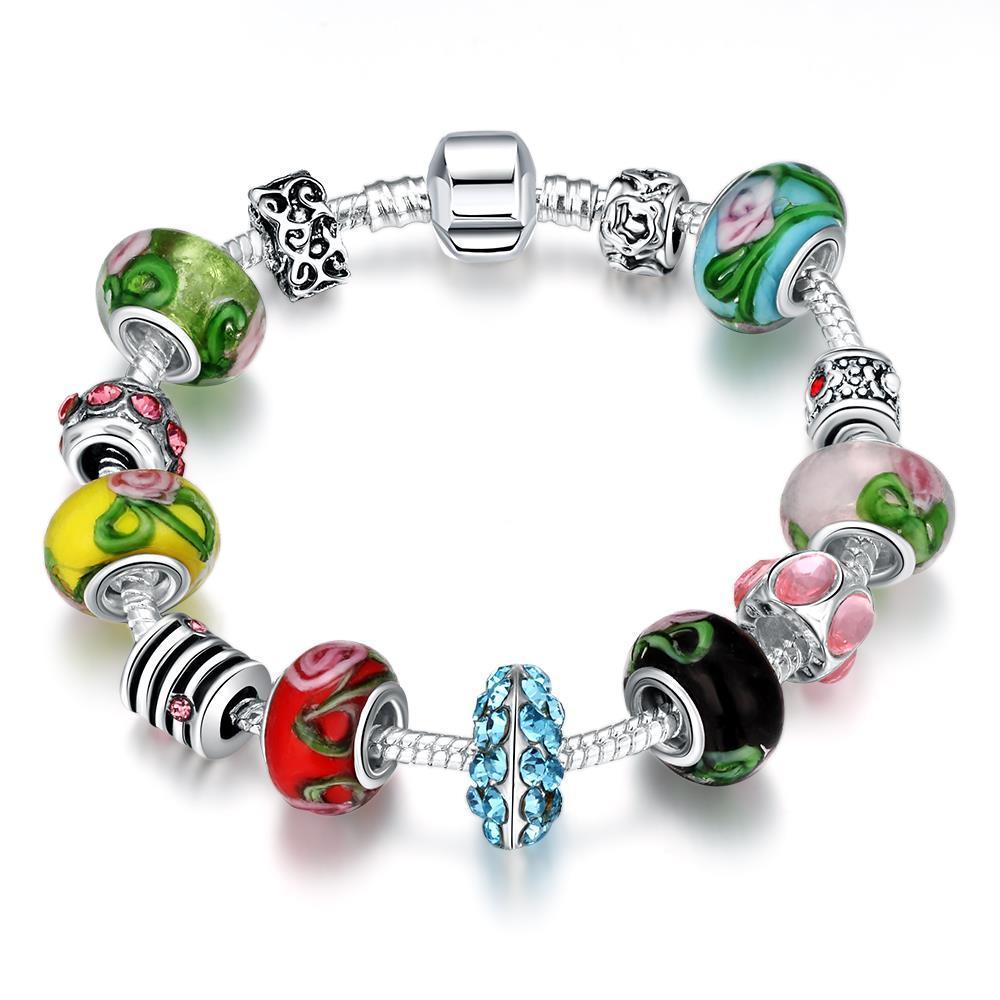 Vienna Jewelry Colors Of the Rainbow Bracelet
