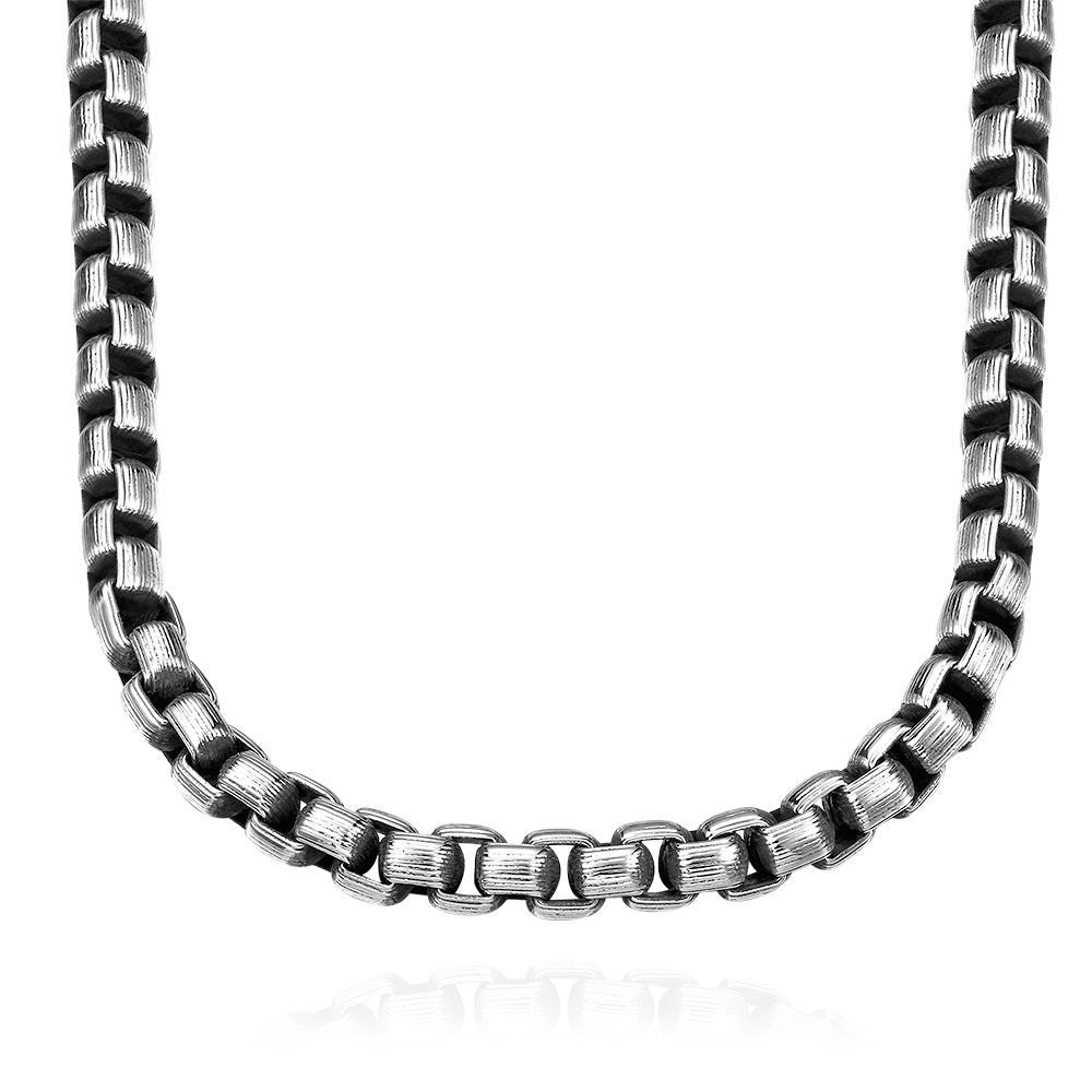 Vienna Jewelry Intertwined Stainless Steel Necklace
