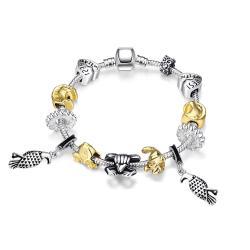 Vienna Jewelry Animals of the Globe Designer Inspird Bracelet - Thumbnail 0