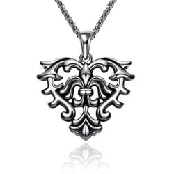 Vienna Jewelry Mens Stainless Steel Necklace