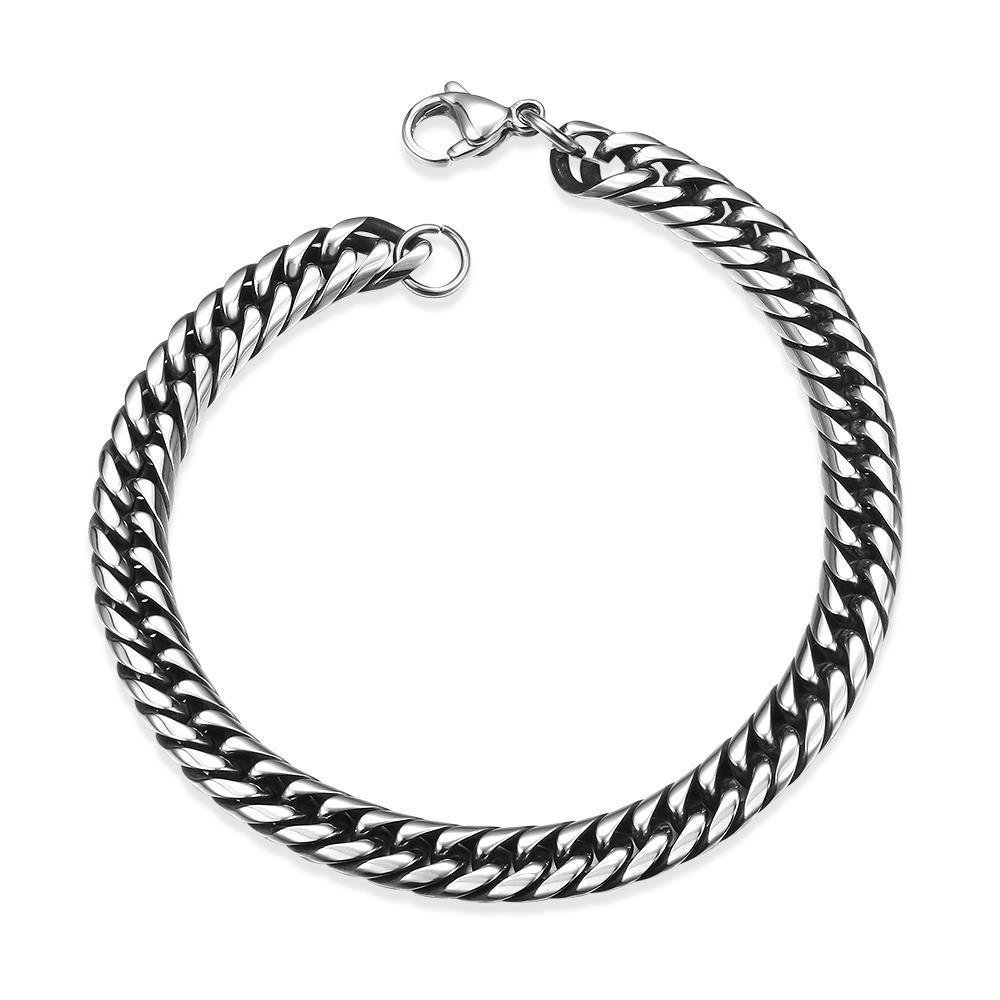 Vienna Jewelry Marina Chain Stainless Steel Bracelet