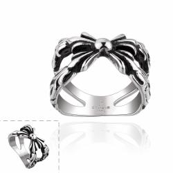 Vienna Jewelry Intertwined Knot Stainless Steel Ring - Thumbnail 0