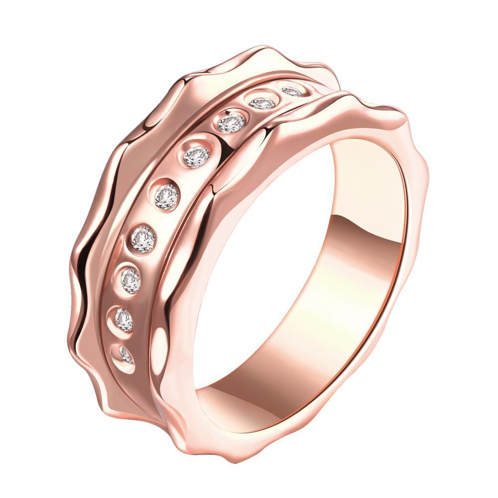Vienna Jewelry Gold Plated Antwerp Clasical Inspired Ring